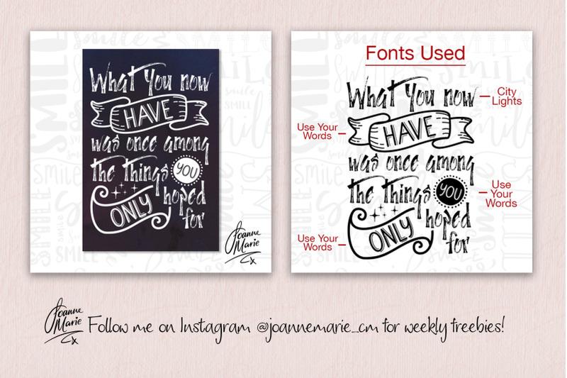 handwritten-font-bundle