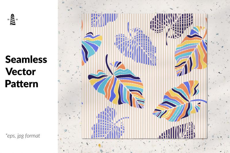 exotic-leaf-seamless-pattern