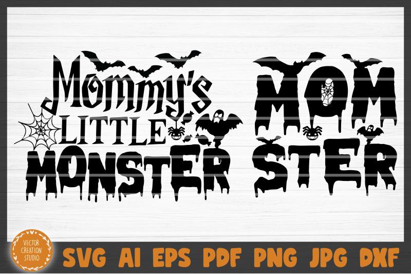 mommy-039-s-little-monster-momster-halloween-svg