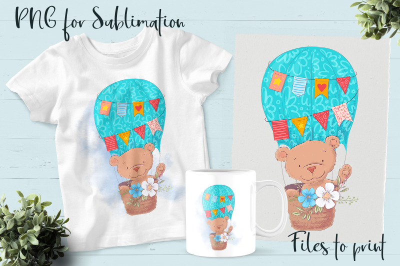 cute-bear-sublimation-design-for-printing