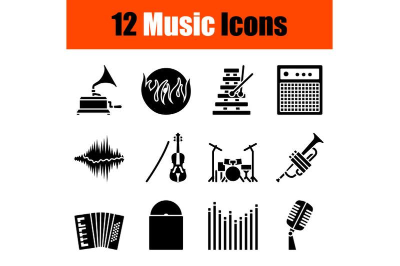 music-icon-set