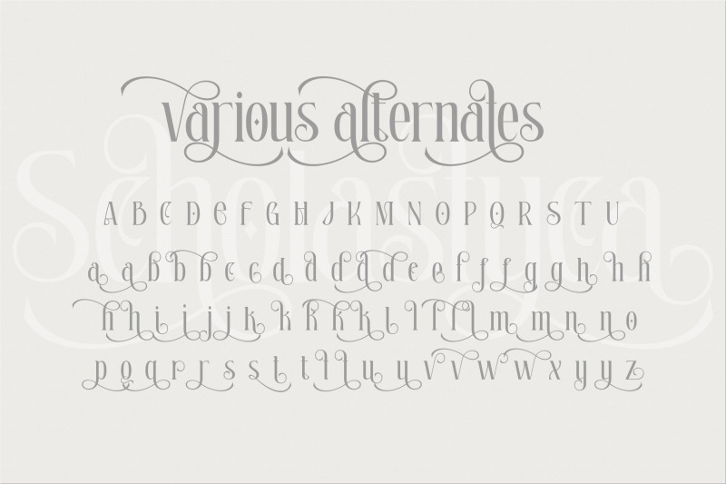 scholastyca-serif-typeface