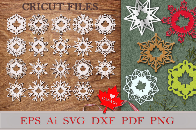 snowflakes-with-maple-leaf-files-for-cutting