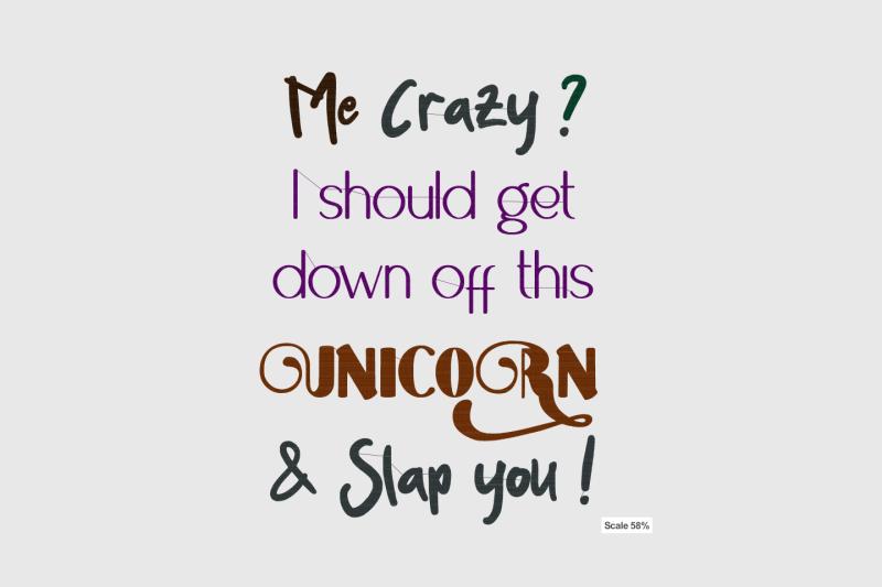 me-crazy-unicorn-quote