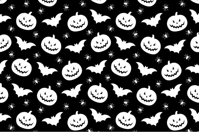 halloween-pattern-pumpkin-pattern-bats-pattern-ghost-svg
