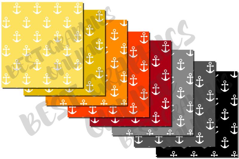 anchors-nautical-digital-paper-pack-set-ocean-pattern-background-paper