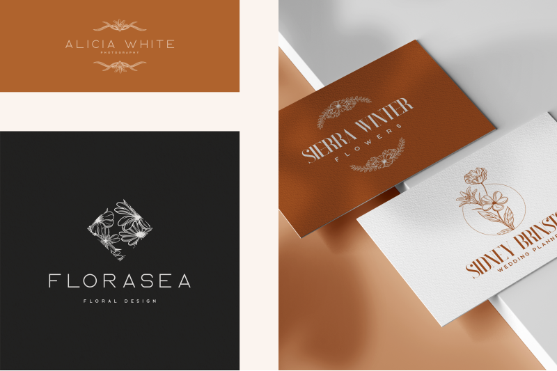 doux-floral-logos-fonts-included