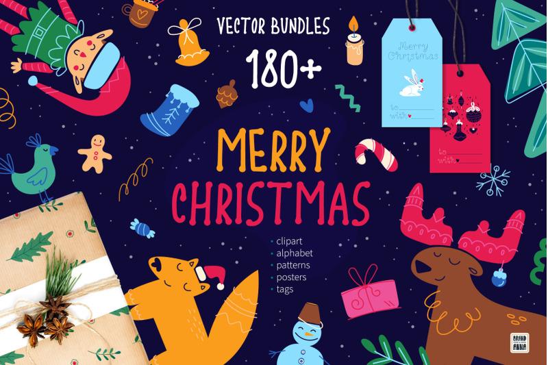 merry-christmas-vector-bundle