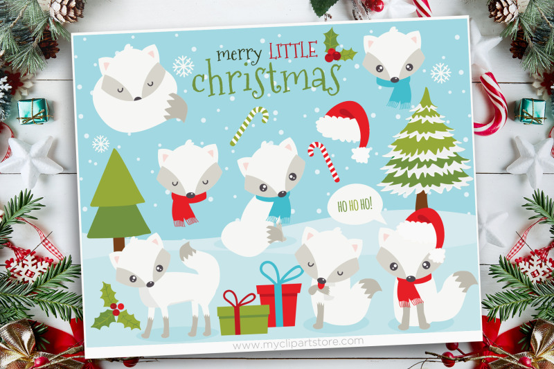 white-christmas-fox-clipart-vector-sublimation-svg