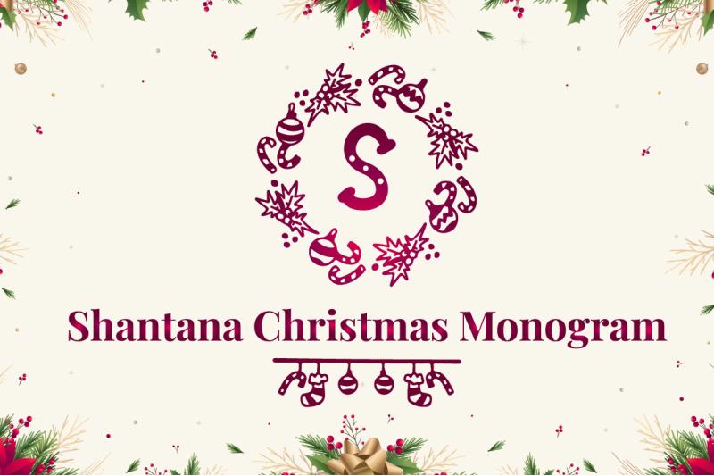shantana-christmas-monogram