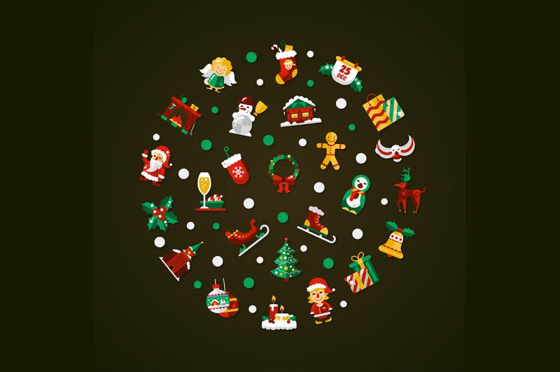 25-christmas-icons-bonus-illustrations