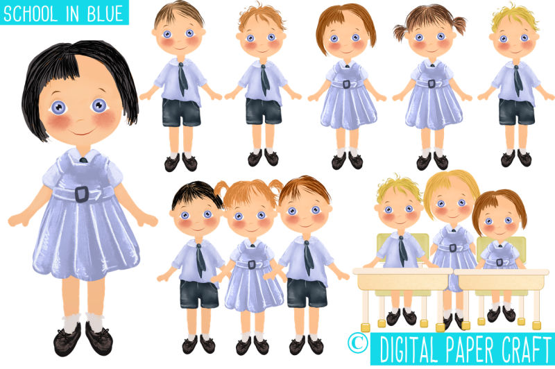 school-in-blue-school-clipart-school-children-school-uniform