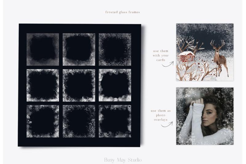 huge-winter-woodland-scene-creator-seamless-patterns-png