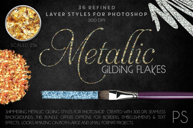 metallic-gilding-flakes