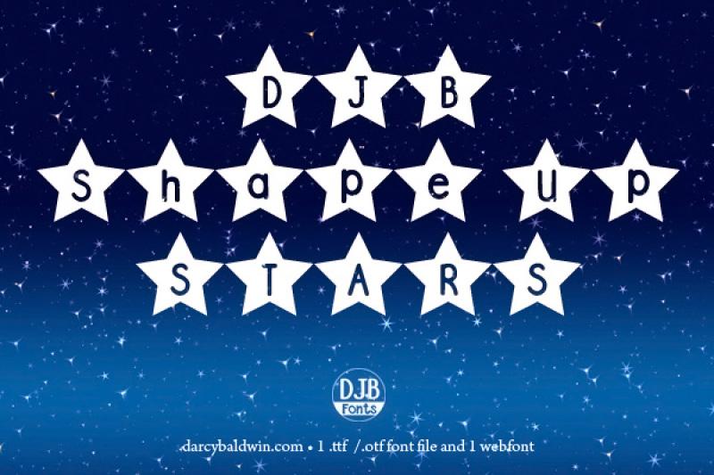 djb-shape-up-stars-font