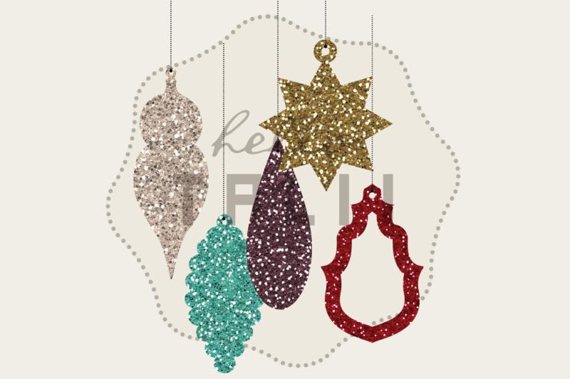 christmas-glitter-ornaments-clip-art