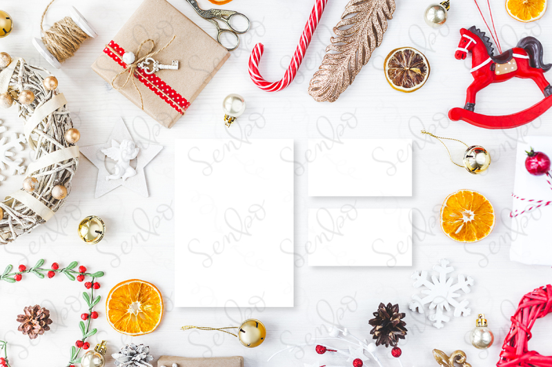 cute-vintage-christmas-new-year-gifts-mock-up