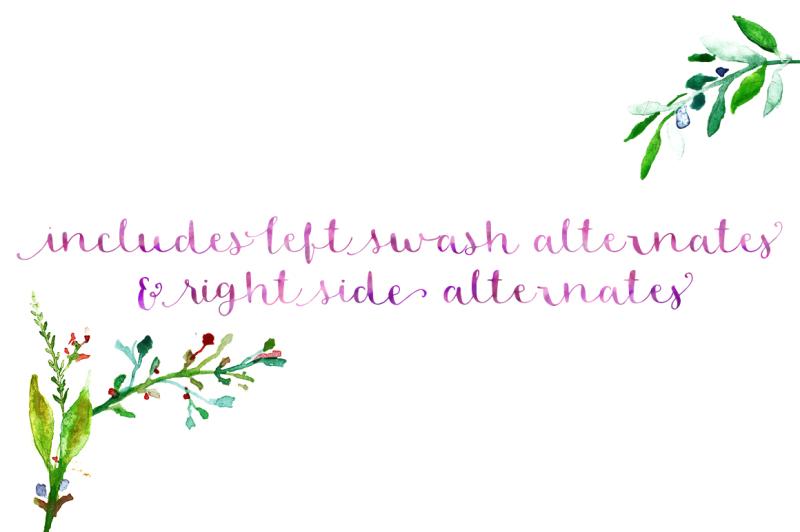 blossom-script