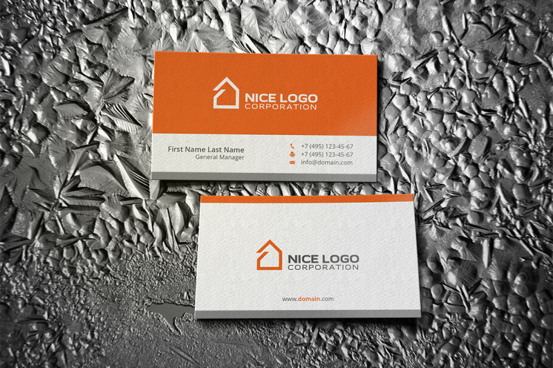 simple-house-business-card