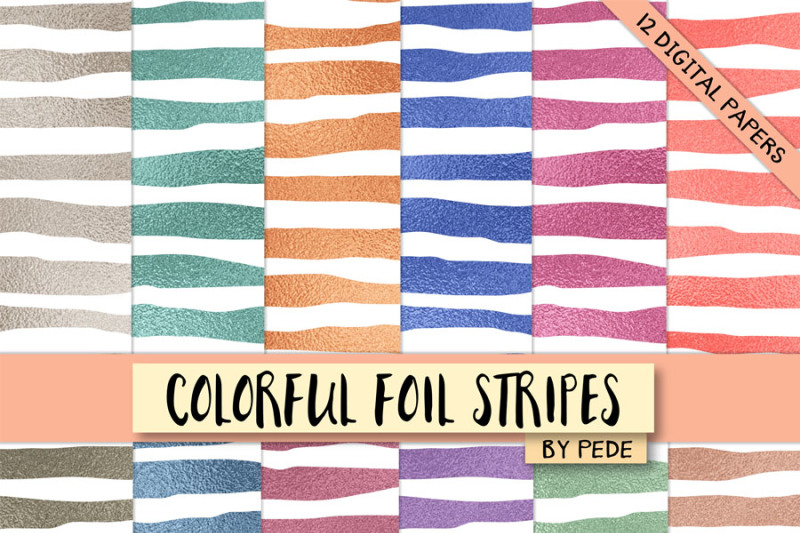 colorful-foil-stripes
