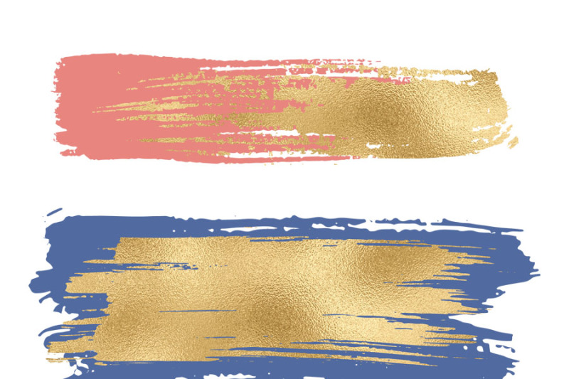 gold-brush-strokes-clipart