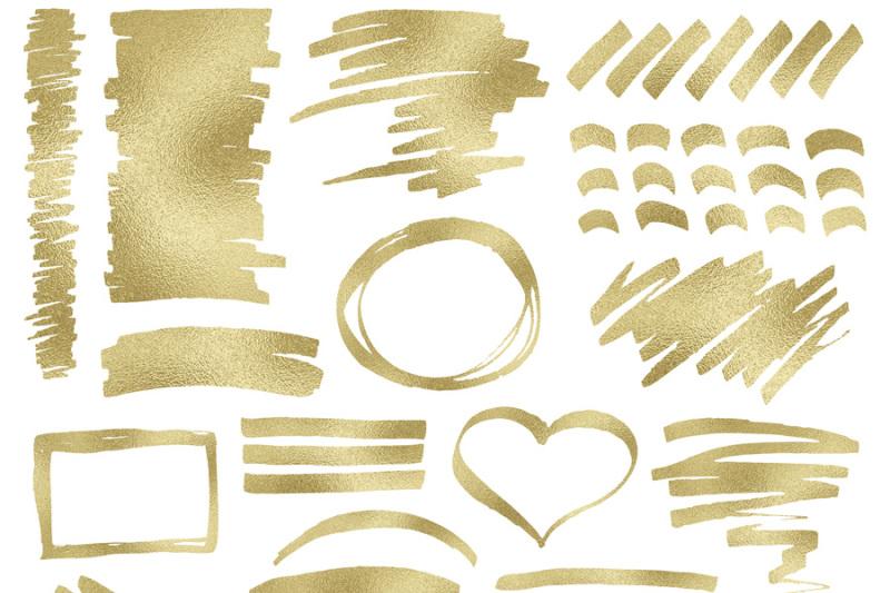 gold-foil-digital-clipart