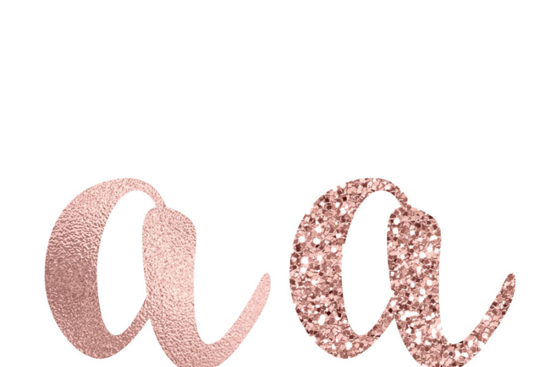 rose-gold-foil-and-glitter-alphabet-clipart