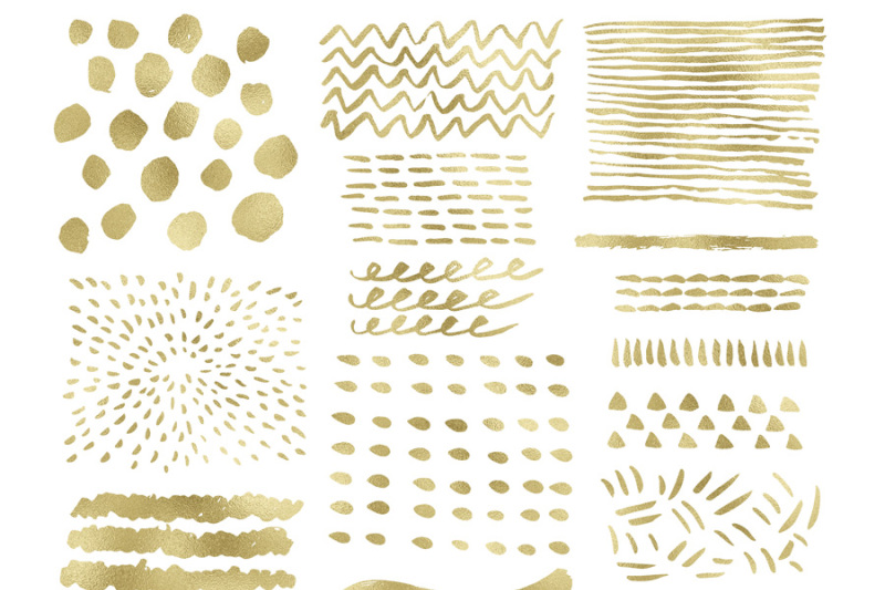 gold-foil-digital-clipart-gold-brush-strokes-and-shapes