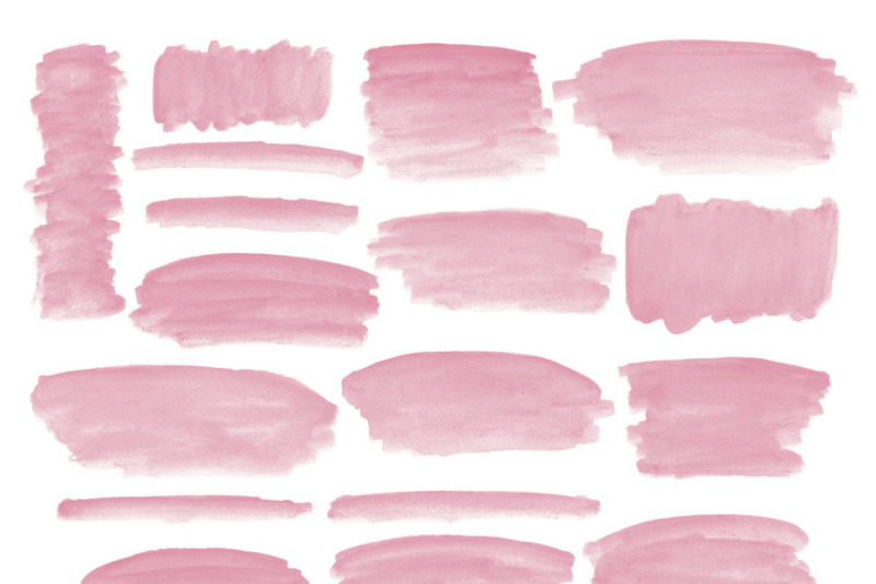 coral-watercolor-strokes-clipart
