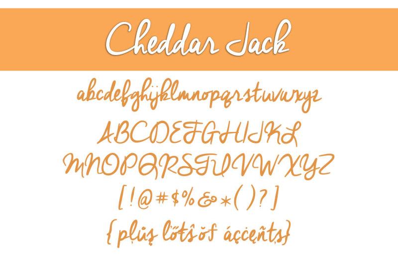 cheddar-jack-font