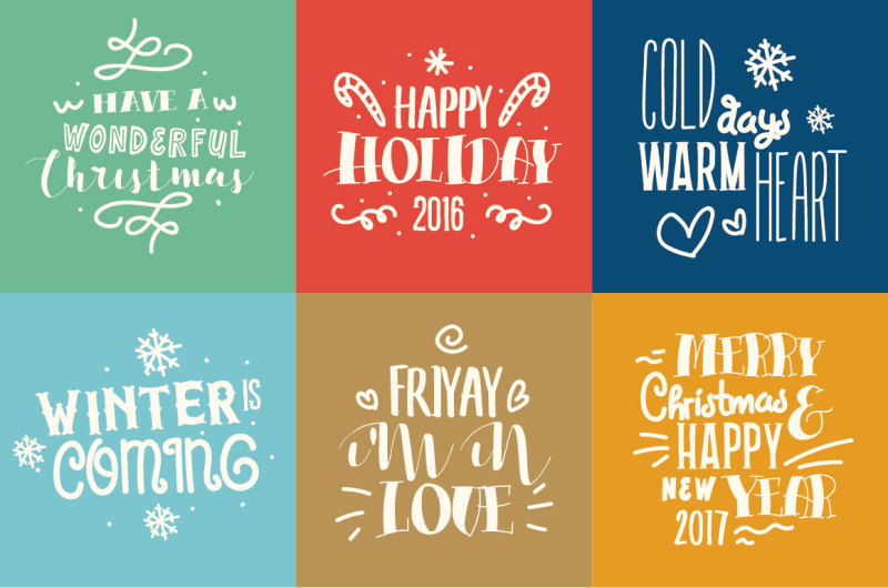 holiday-font-collection-with-extras
