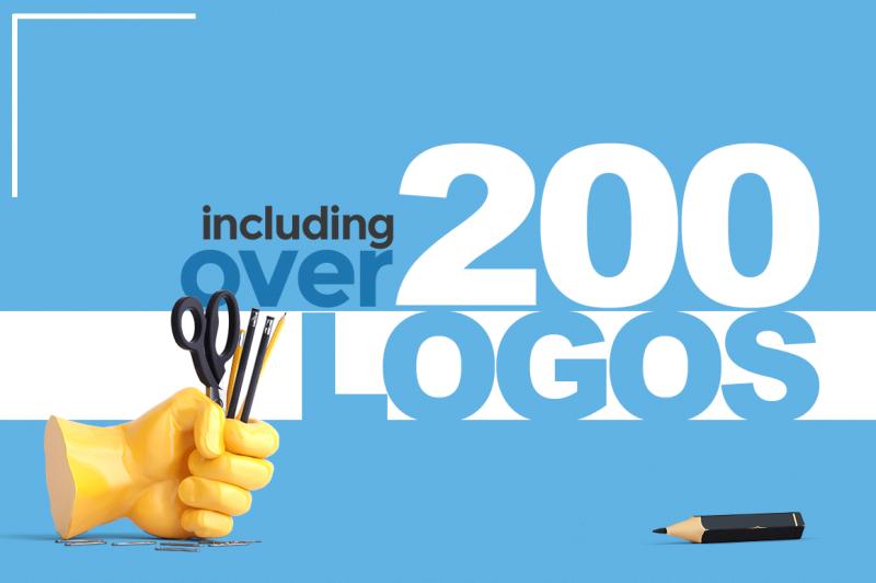 200-logo-templates
