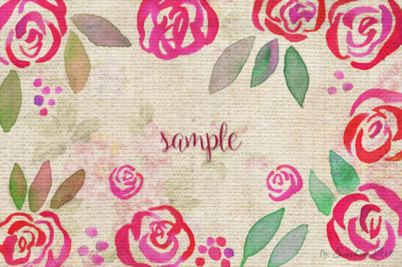 rose-garden-watercolor-clip-art