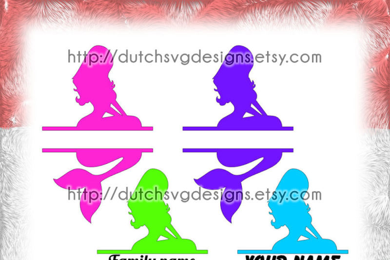 mermaid-split-border-cutting-file-for-monograms-and-texts-in-jpg-png-svg-eps-dxf-for-cricut-and-silhouette-meerjungfrau-decorative-border