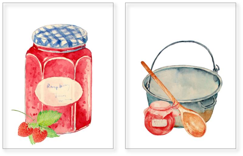 watercolor-clipart-jam-jar