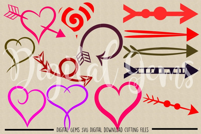 hearts-and-arrows-svg-dxf-eps-png-files