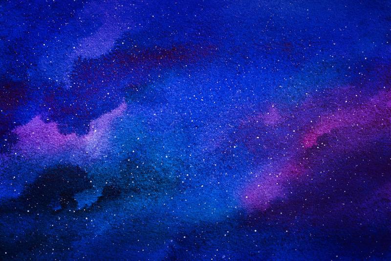 galaxy-watercolor-illustrations