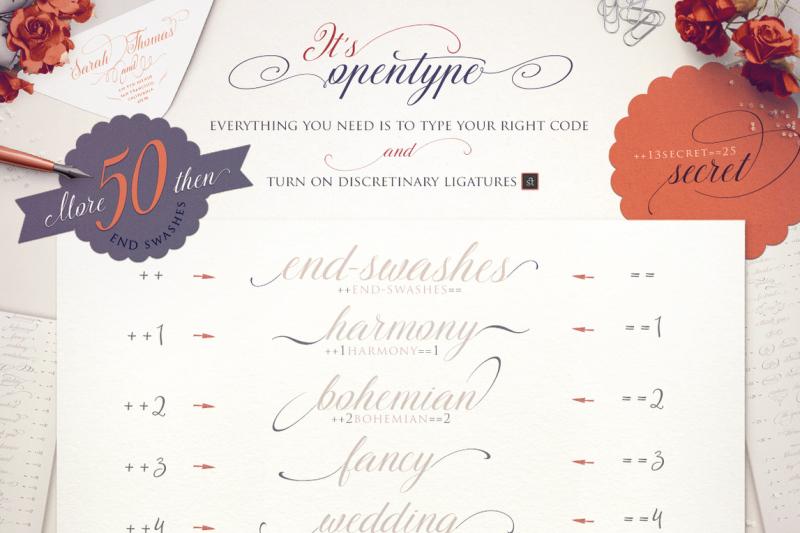 thesecret-luxury-calligraphy-script