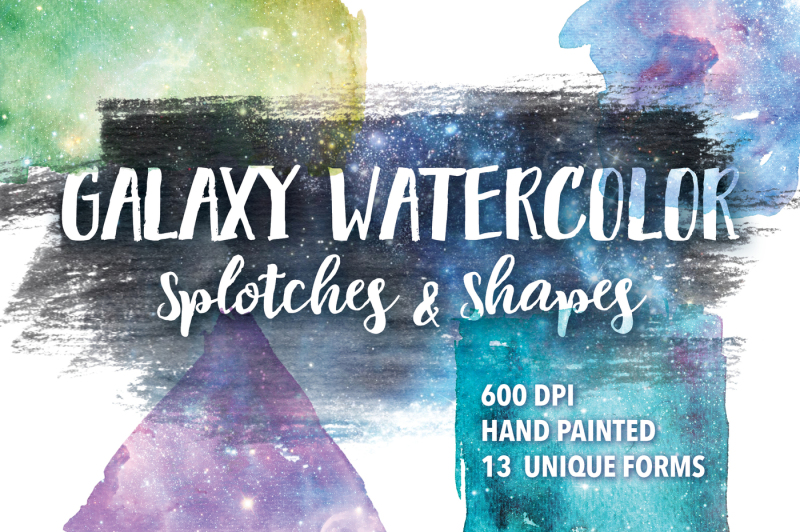 galaxy-watercolor-splotches-and-shapes