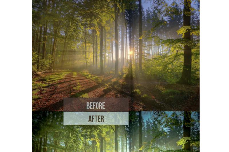 269 Premium Landscape Lightroom Presets (Presets for