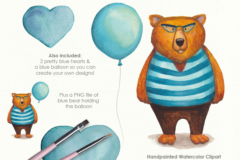 teddy-bear-watercolor-clipart