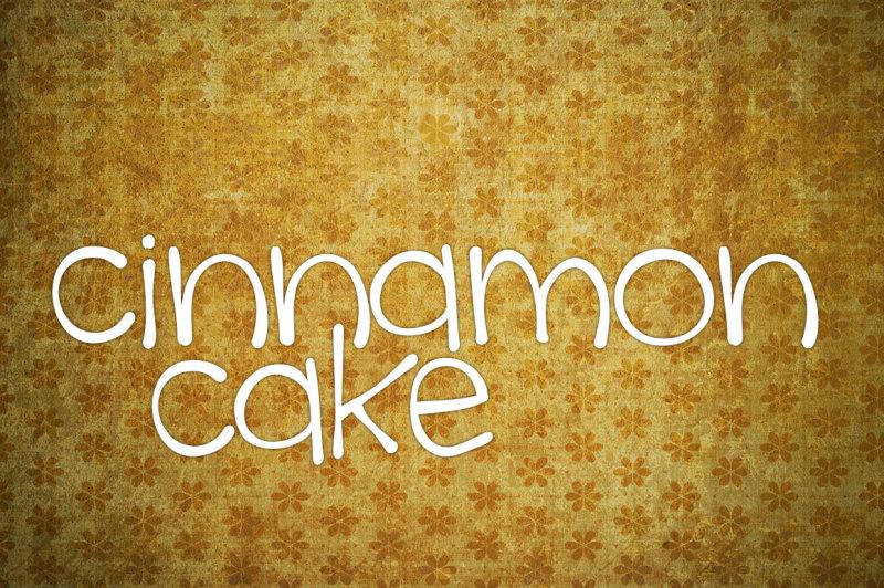 cinnamon-cake-font