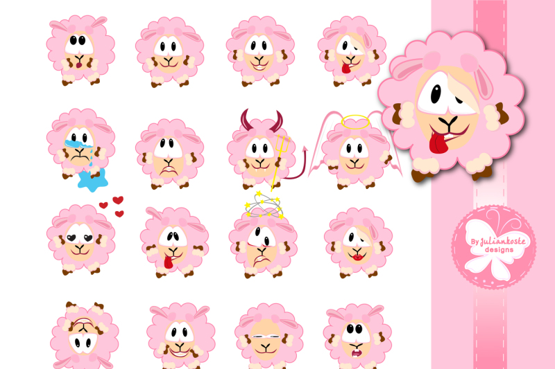 lambs-with-different-emotions-icons-the-archive-contains-a-jpeg-300-dpi-on-white-background-in-png-format-on-a-transparent-background-eps-10-for-use-in-any-desired-size