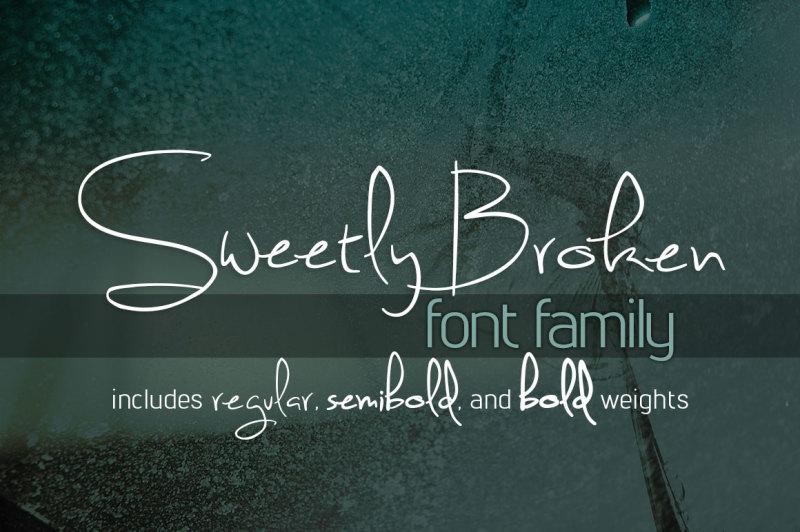 sweetly-broken-font-family