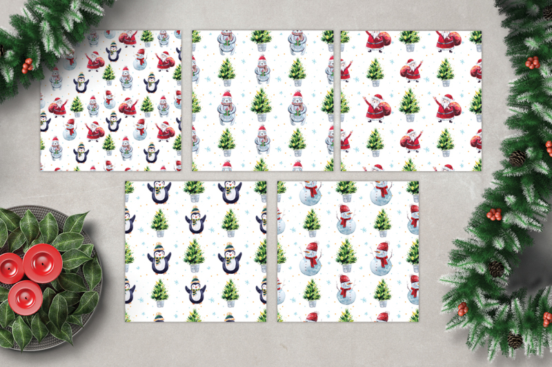 watercolor-holly-jolly-collection-bull-elements-amp-patterns