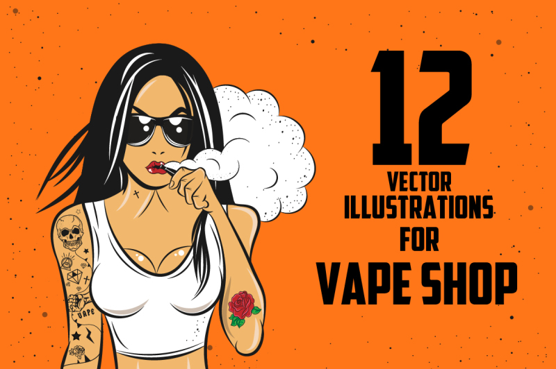 12-illustrations-for-vape-shop