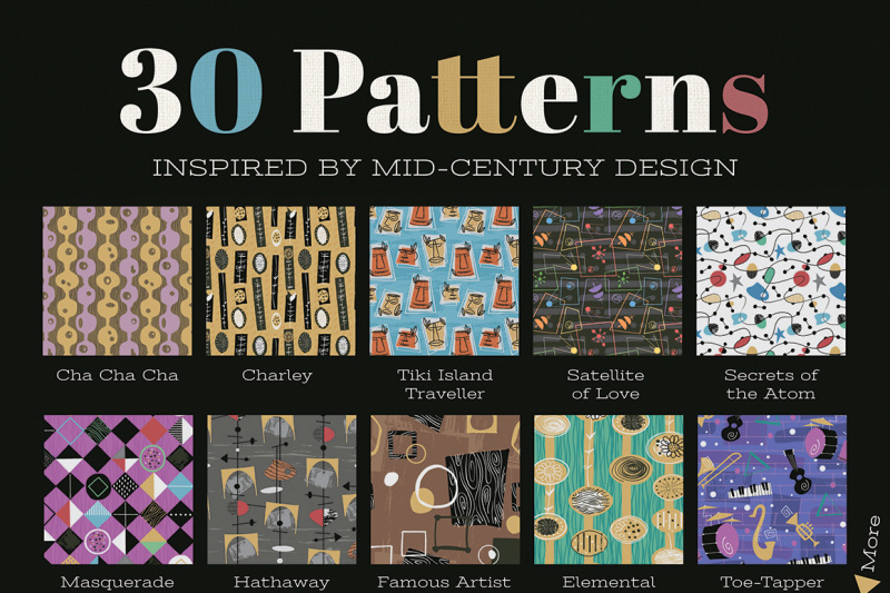 the-complete-1950s-retro-pattern-collection