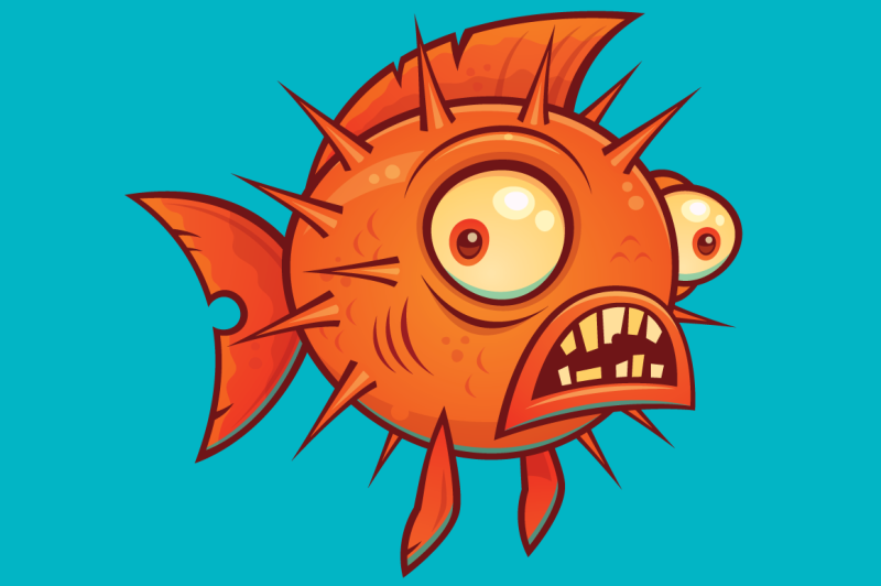 cartoon-pufferfish
