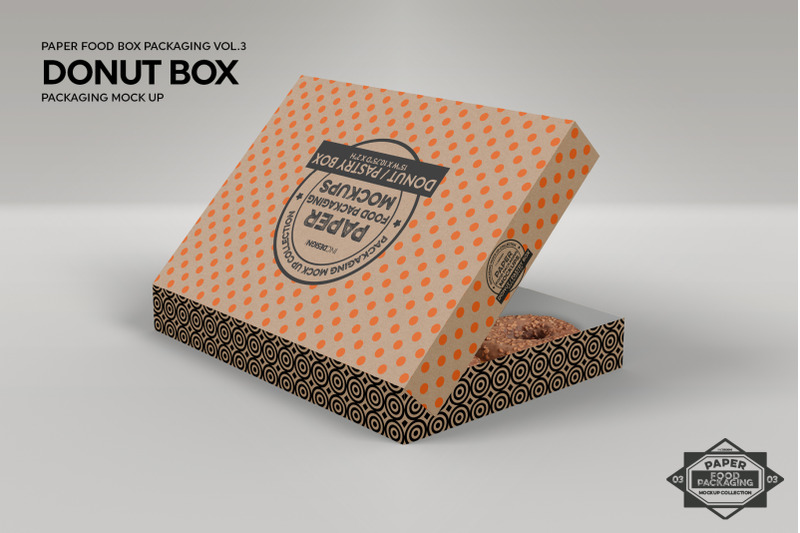 Glossy Paper Box Mockup High Angle Shot