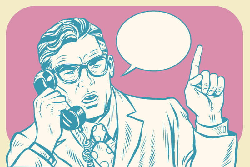 boss-talking-on-the-phone
